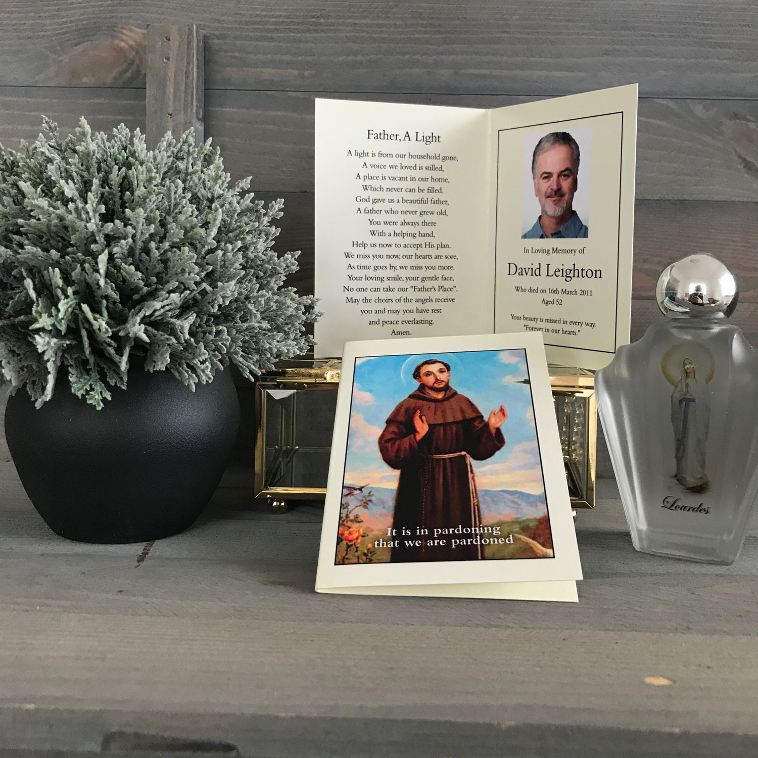 Memorial Prayer Card